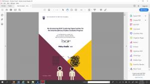 Re-Envisioning ISGP Exploring Opportunities for the Interdisciplinary Studies Graduate Program