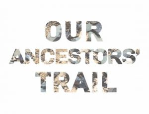 Our Ancestors Trail postcard small