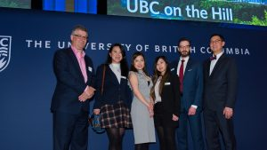 Nicole So at UBC Alumni Event