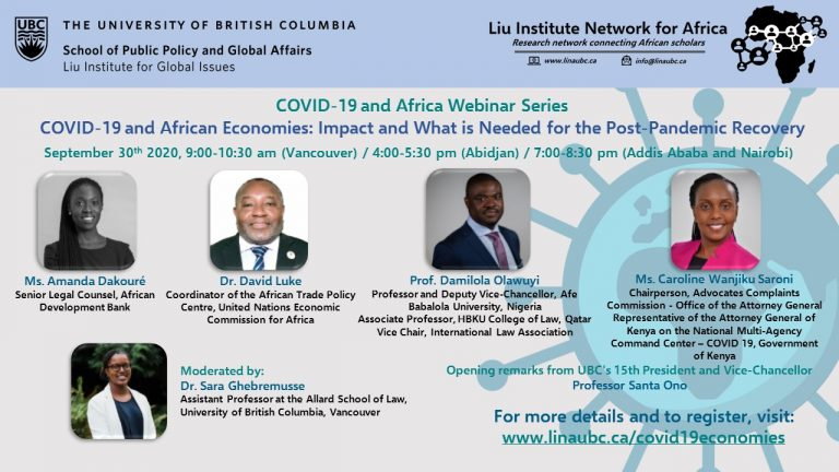 COVID-19 and African Economies4