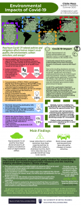 Environmental Impacts of Covid-19 Infographic