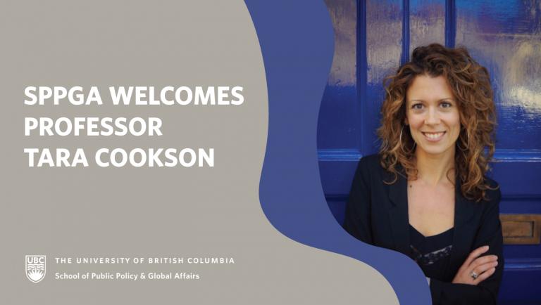 Tara Cookson welcome