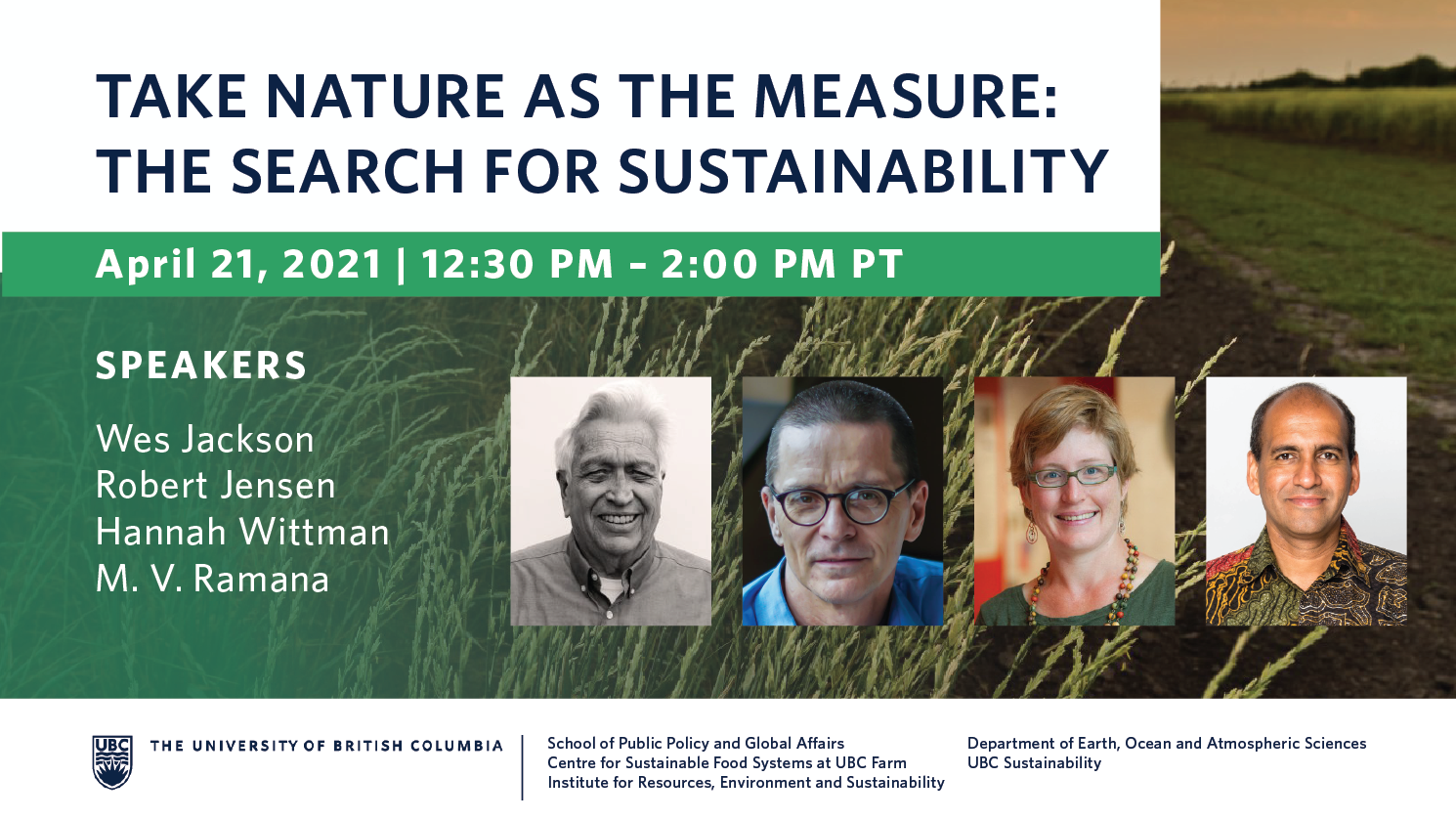 The Search for Sustainability