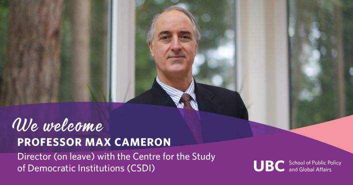 Welcome Max Cameron as Core Faculty