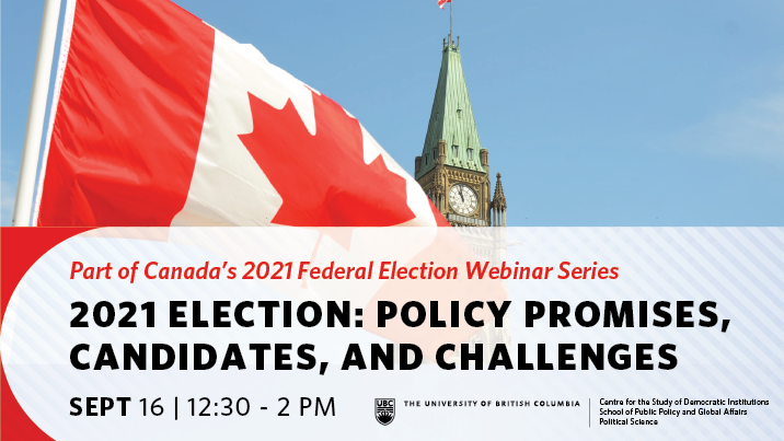 Canadian Federal Election Sept 16